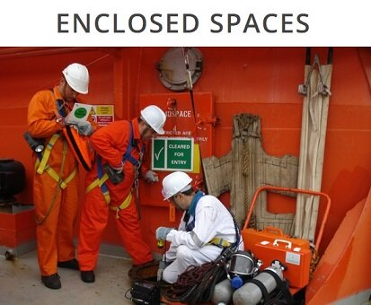 Confined space entry preparation