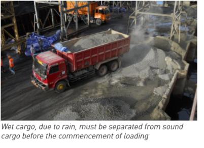 Bulk cement - Preparations, loading, carrying & handling